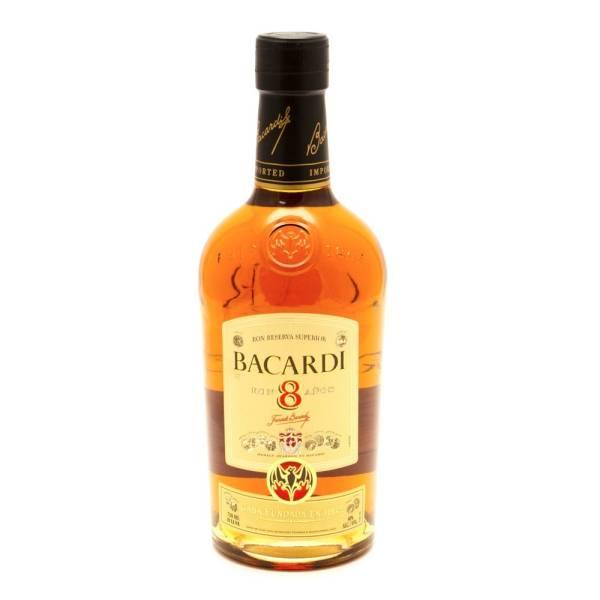 Bacardi - 8 Superior Rum - 750ml