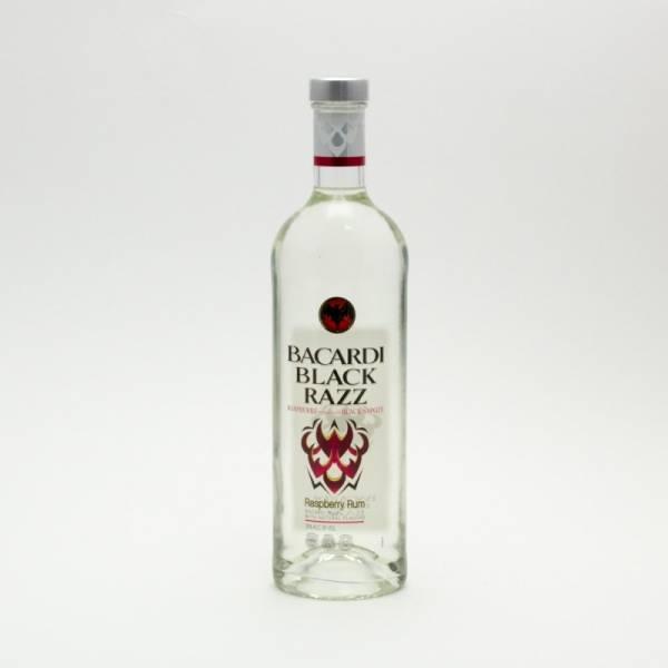 Bacardi - Black Razz Raspberry Rum - 750ml