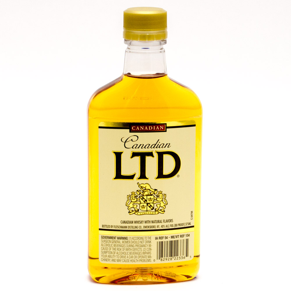Canadian LTD - Whiskey - 375ml