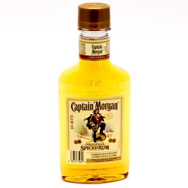 Captain Morgan - Original Spiced Rum - 200ml