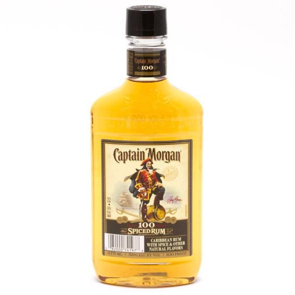Captain Morgan - Spiced Rum 100 Proof - 375ml