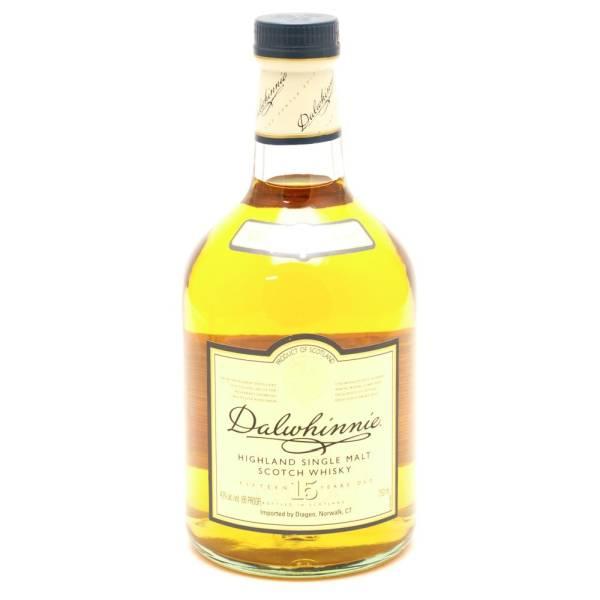 Dalwhinnie Highland - 15 Years Old Single Malt Scotch Whiskey - 750ml