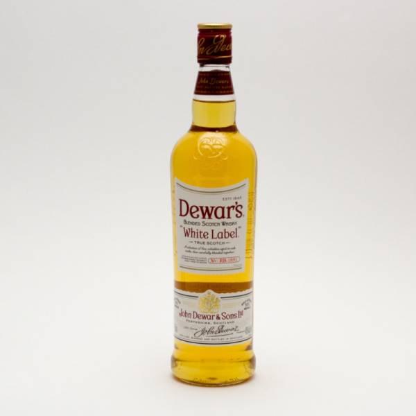 Dewar's - White Label True Scotch Whiskey Blend - 750ml
