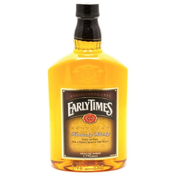 Early Times - Kentucky Whiskey - 1.75L
