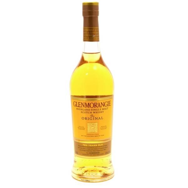 Glenmorangie - Highland Single Malt Scotch Whiskey Aged 10 Years - 750ml