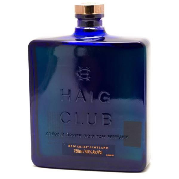 Haig Club - Single Grain Scotch Whiskey - 750ml