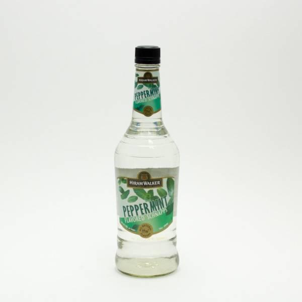 Hiram Walker - Peppermint flavored Schnapps - 750ml