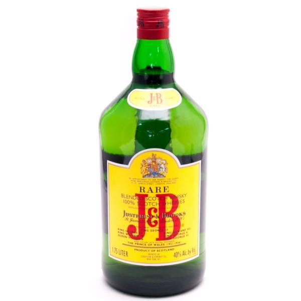 J&B - Scotch Whiskey - 1.75L