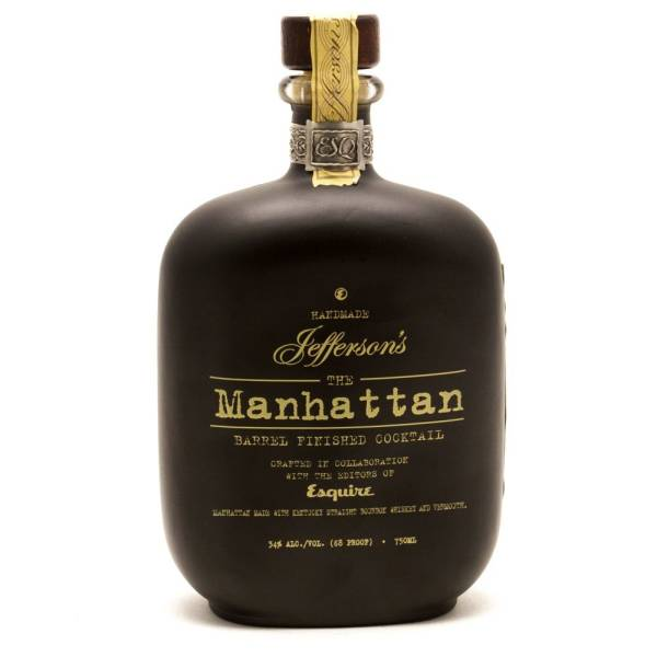 Jefferson's - The Manhattan Barrel Finished Cocktail - 750ml