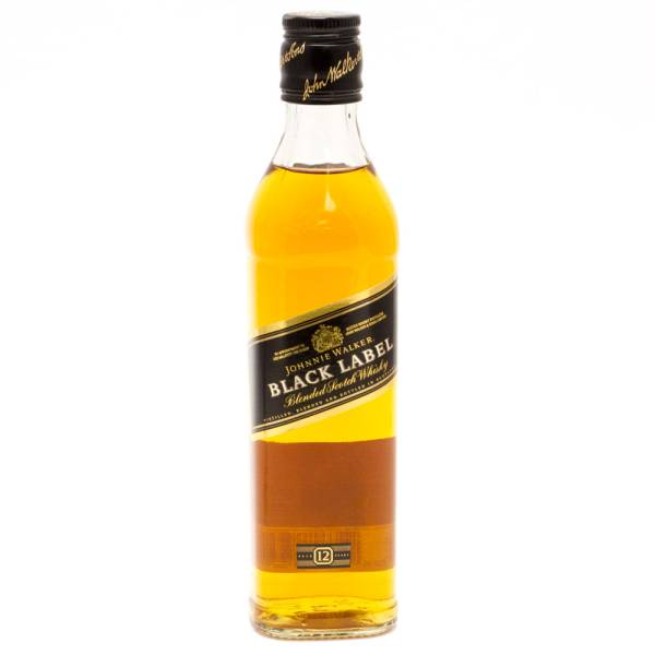 Johnnie Walker - Black Label Scotch Whiskey - 375ml