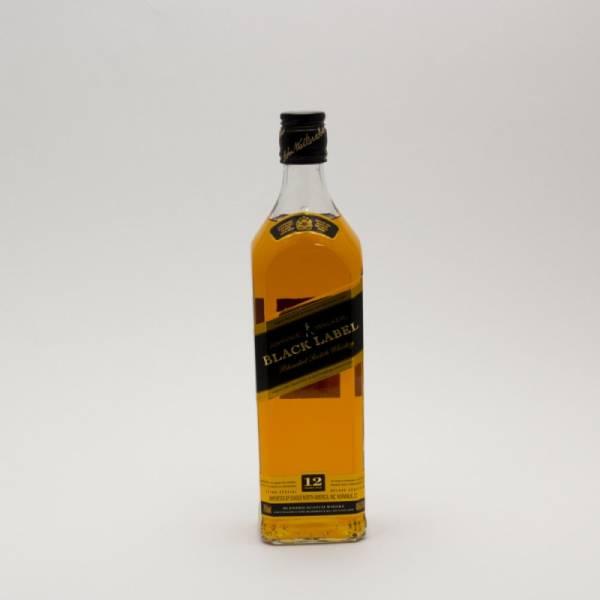 Johnnie Walker - Black Label Scotch Whiskey - 750ml