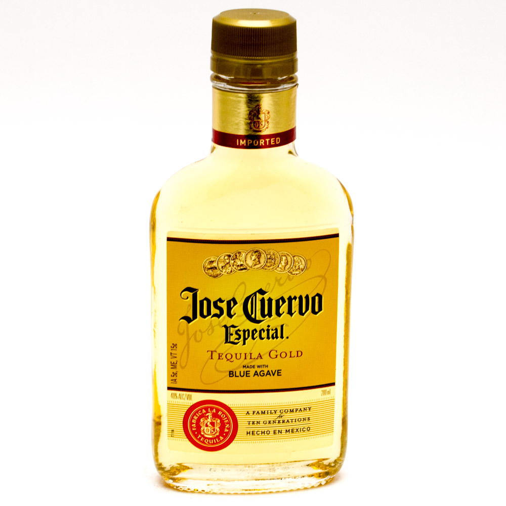 Jose Cuervo Especial Tequila Gold 200ml Beer Wine