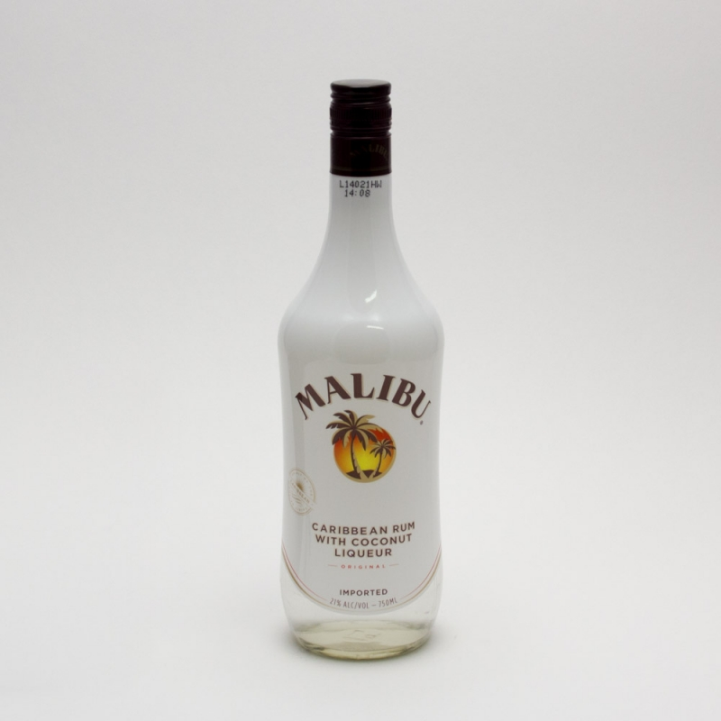 Malibu - Caribbean Rum with Coconut Liqueur - 750ml