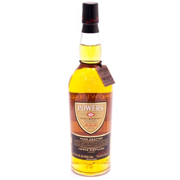 Powers - Irish Whiskey Triple Distilled - 750ml