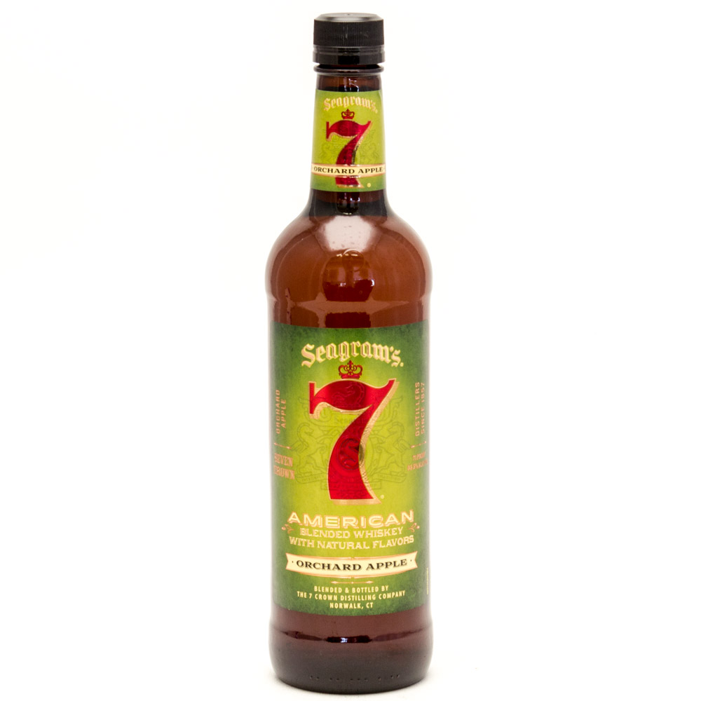 Seagram's - 7 American Blended Whiskey Orchard Apple - 750ml