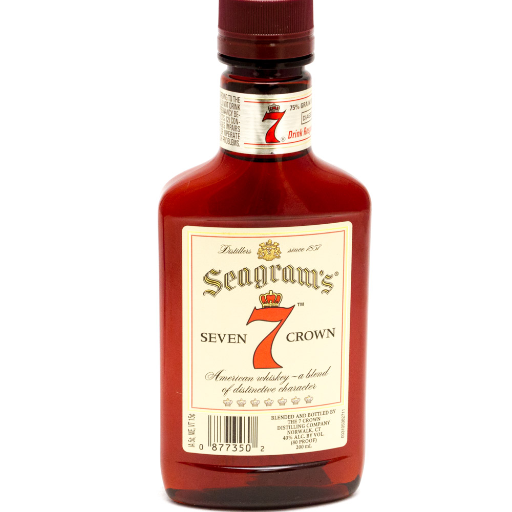 Seagram's - 7 Seven Crown American Blended Whiskey - 200ml