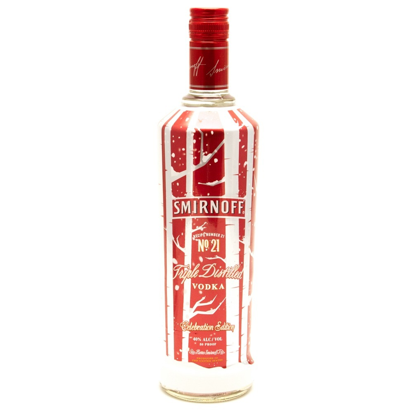 Smirnoff - Vodka Celebration Edition - 750ml