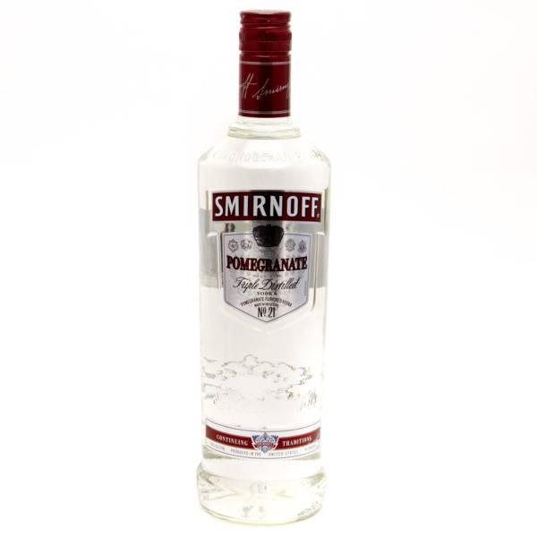 Smirnoff - Pomegranate Vodka - 750ml