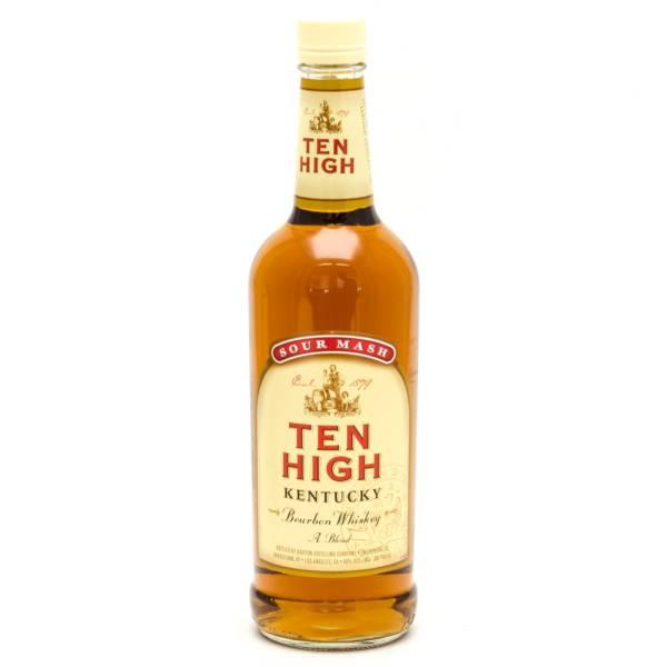 Ten High - Kentucky Bourbon Whiskey - 750ml