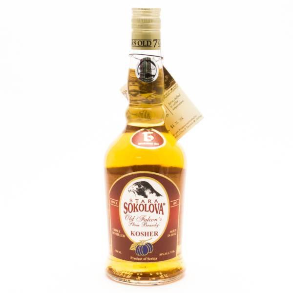 Stara Sokolova - 7 Years Old - Falcon's Plum Brandy - 750ml
