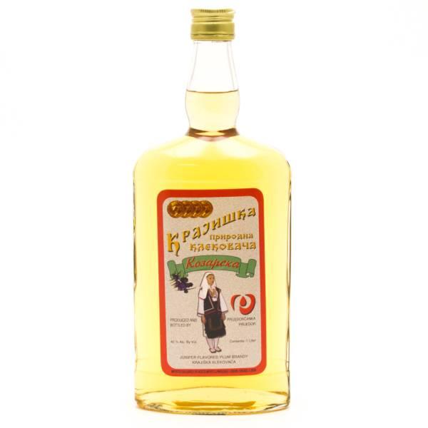Kpajhwka - Koeapcka - Juiper Plum Brandy - 1L