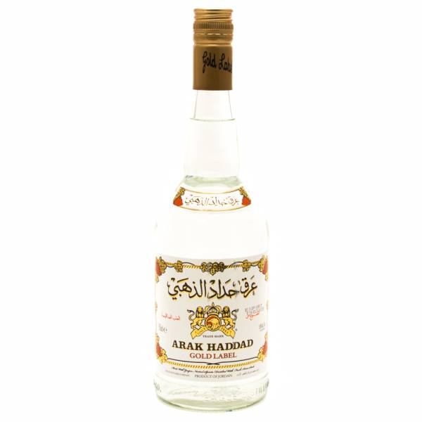 Arak Haddad - Gold Lable - Grape Spirits and Anise Seeds - 750ml