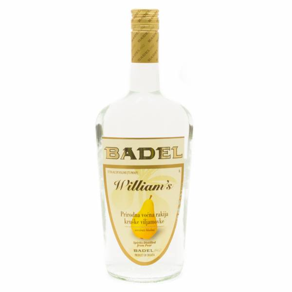 Badel - William's - Spirits Distilled from Pear - 1L