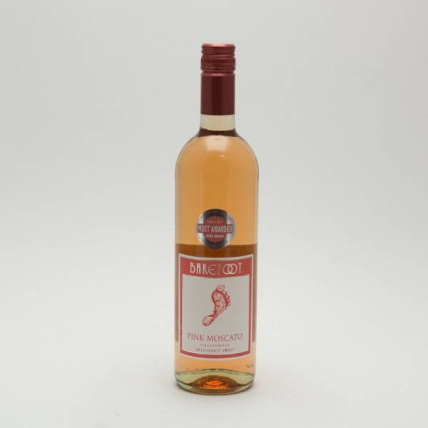 Barefoot - Pink Moscato - 750ml