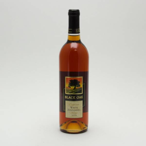 Black Oak - White Zinfandel 2008 - 750ml