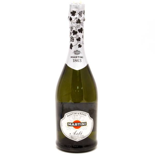 Martini & Rossi - 1863 Asti Sparkling Wine Imported from Italy - 750ml