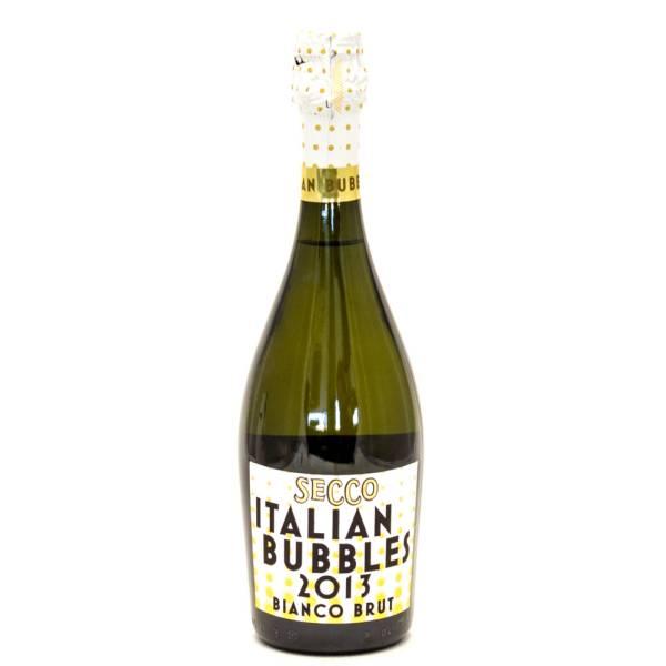 Secco - Italian Bubbles 2013 Bianco Brut - 750ml