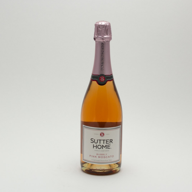 Sutter Home - Bubbly Pink Moscato - 750ml