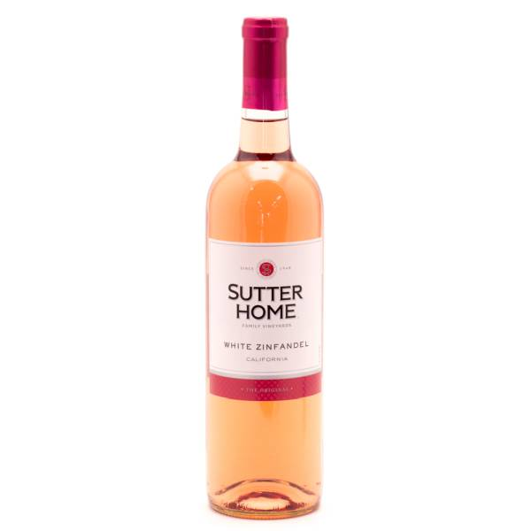 Sutter Home - White Zinfandel California - 750ml