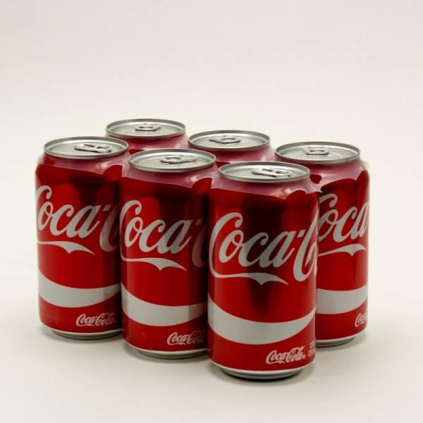 Coke - 12oz Can 6 pack