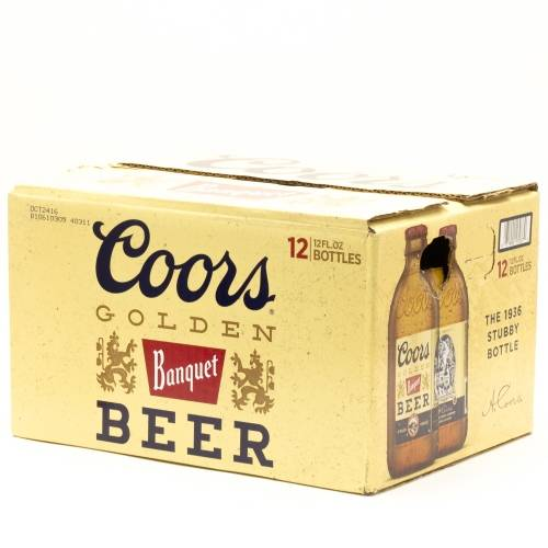 Coors Banquet - 12 pack 12 oz bottles