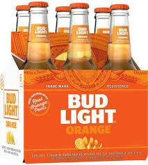 Bud Light Orange - 6 pack