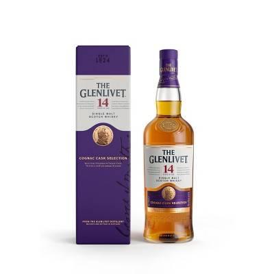 The Glenlivet - 14 - Single Malt Scotch Whiskey 14 Years Aged - 750ml