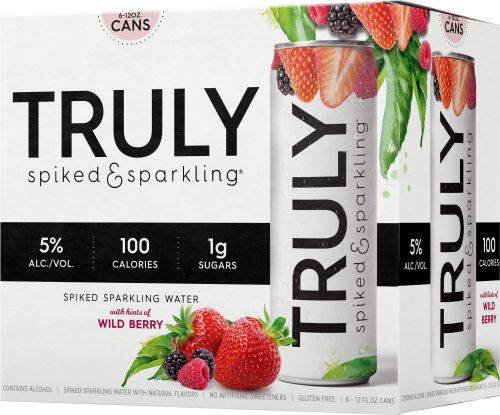 Truly - Mixed Berry - Spiked Vodka & Sparkling - 12 pack