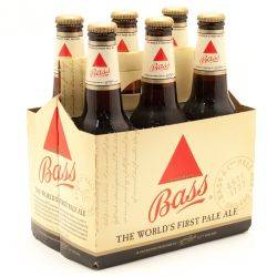 Bass - Pale Ale - 12oz Bottle - 6 pack