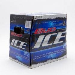 Bud Ice - Beer -12oz Bottle - 12 Pack
