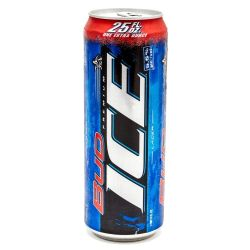 Bud Ice - Lager - 25oz Can