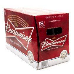 Budweiser - Beer - 12oz Bottle - 18 Pack
