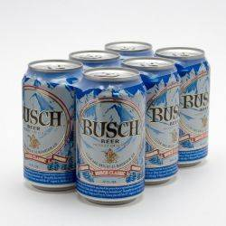 Busch - Beer - 12oz Can - 6 Pack