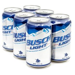 Busch Light - Beer - 12oz Can - 6 Pack