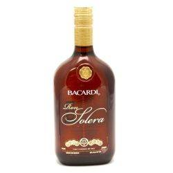Bacardi - Ron Solera Rum - 750ml