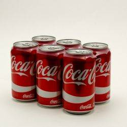 Coke - 12oz Can 6 pack