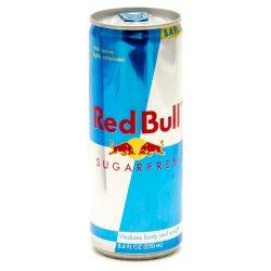 Red Bull Sugar Free - 20 oz