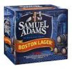Sam Adams Boston Lager 12 pack