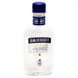 Smirnoff Blue - 200 ml, 100 proof