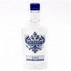 Smirnoff Vodka - 375ml pint - 100 proof